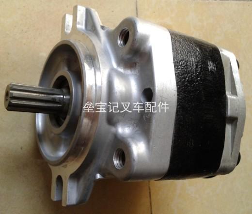 三菱叉车齿轮泵的常见故障与维修方法